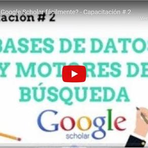Capacitación #2: Uso de bases de datos y motores de búsqueda.