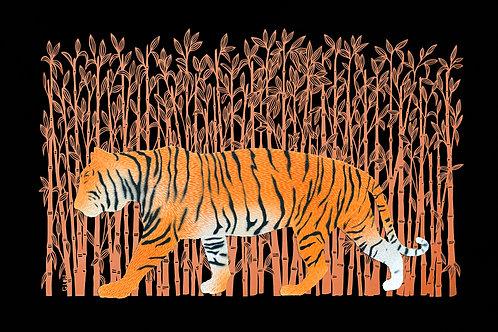 South China Tiger Print