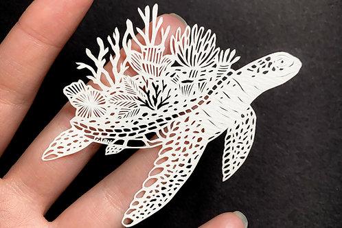 Miniature Sea Turtle