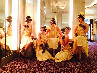 Hire 1920s Charleston Girls