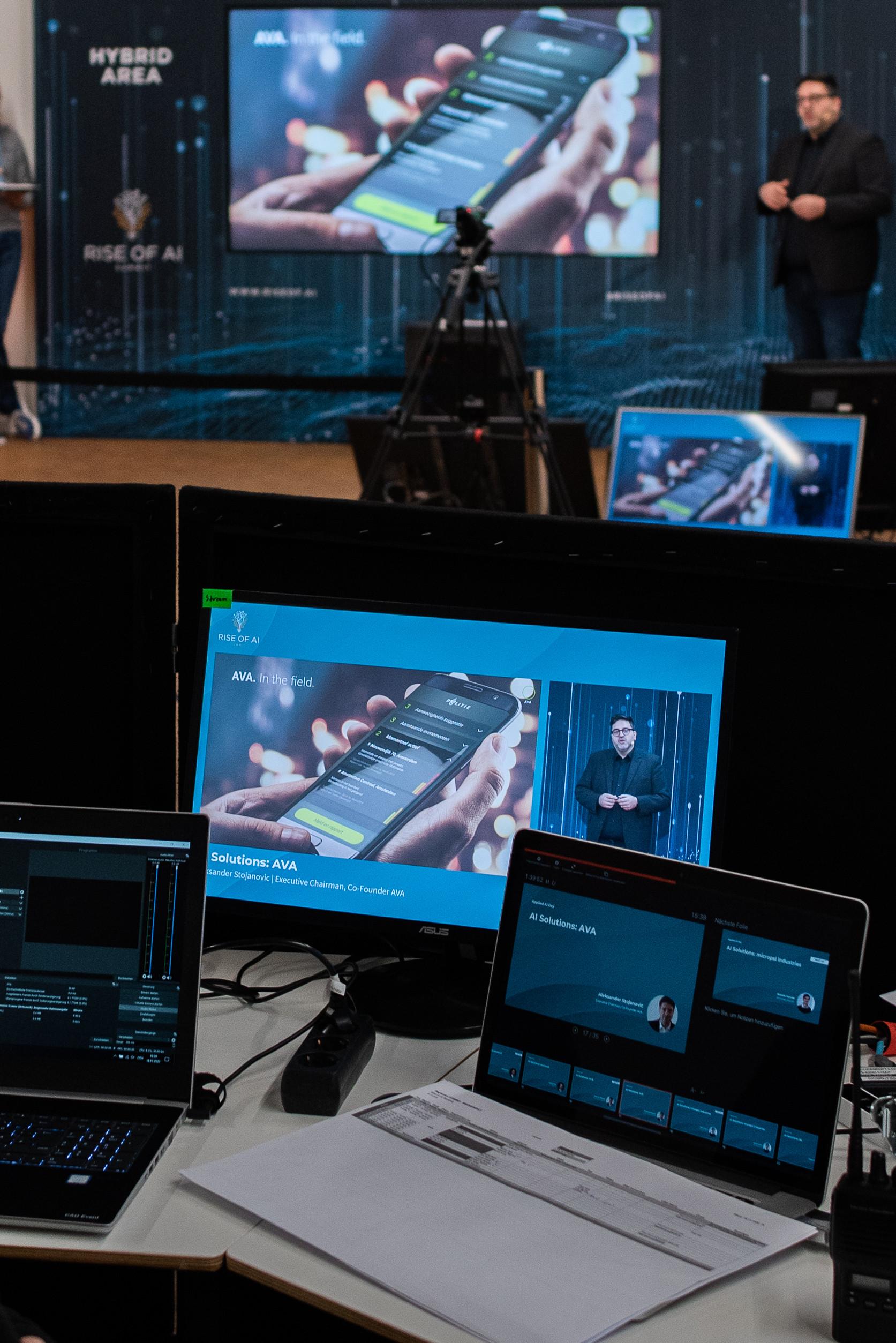 Beratungsgespräch Virtuelle Events