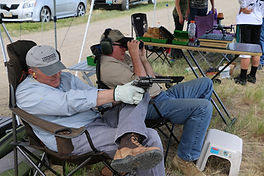 long range pistol shooting, Monster Lake Ranch, John Linebaugh Custom Sixgun, Old School Cowboy shooting, steel buffalo
