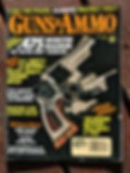 John Linebaugh, custom gun maker, cover story guns and ammo .475 caliber hand gun