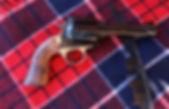 .50 caliber with fancy walnut grips
