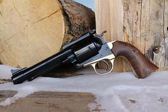 .475 Linebaugh, brass grip frame, Linebaugh Custom Sixguns