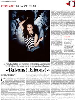 LIBERATION- PORTRAIT / 11 02 2014