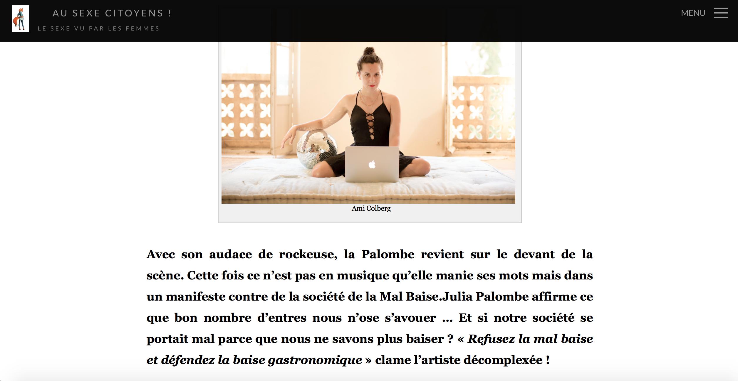 Julia Palombe par La Renarde