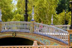 Plaza España. Sevilha