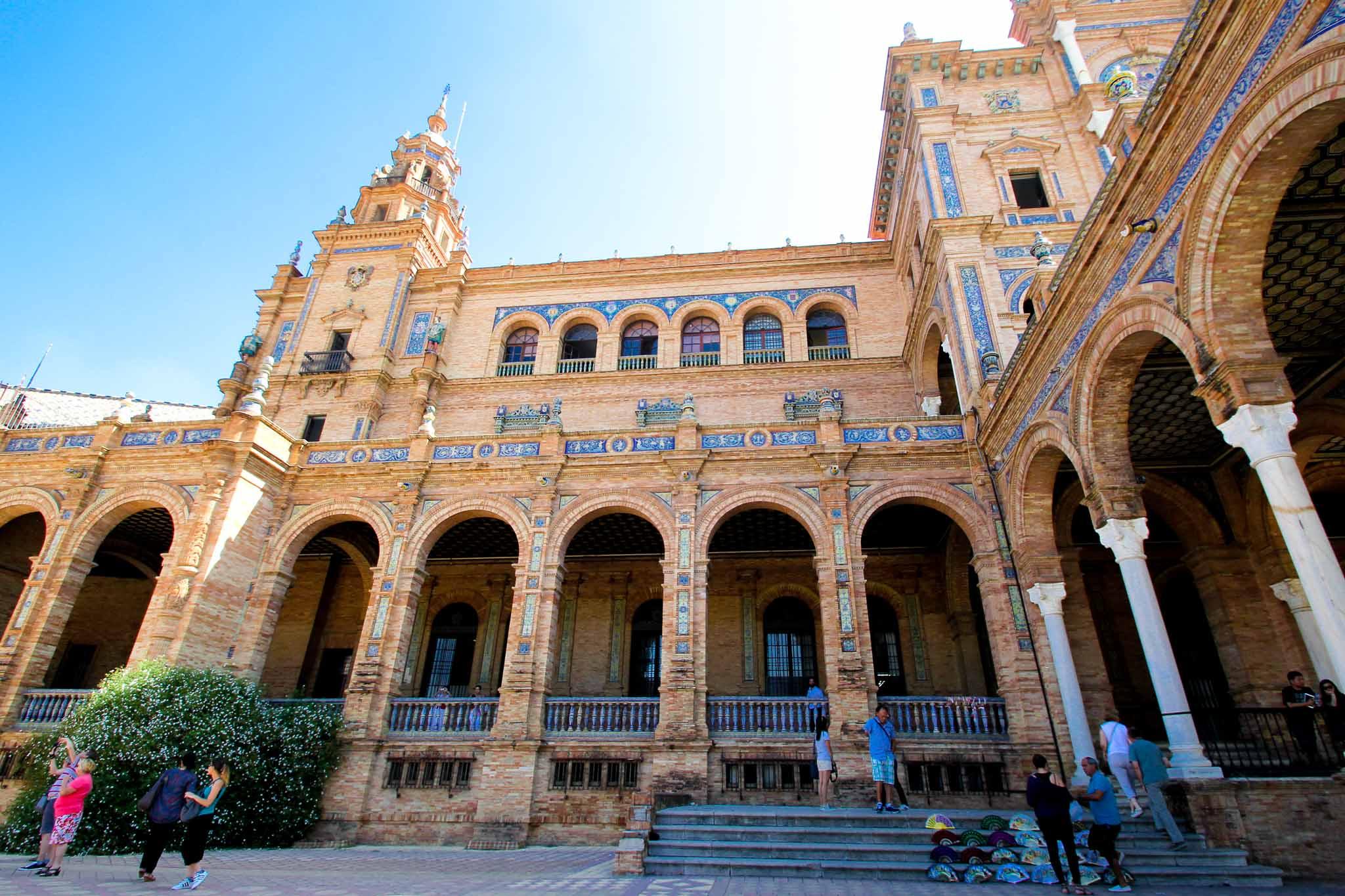 Plaza España, Sevilha