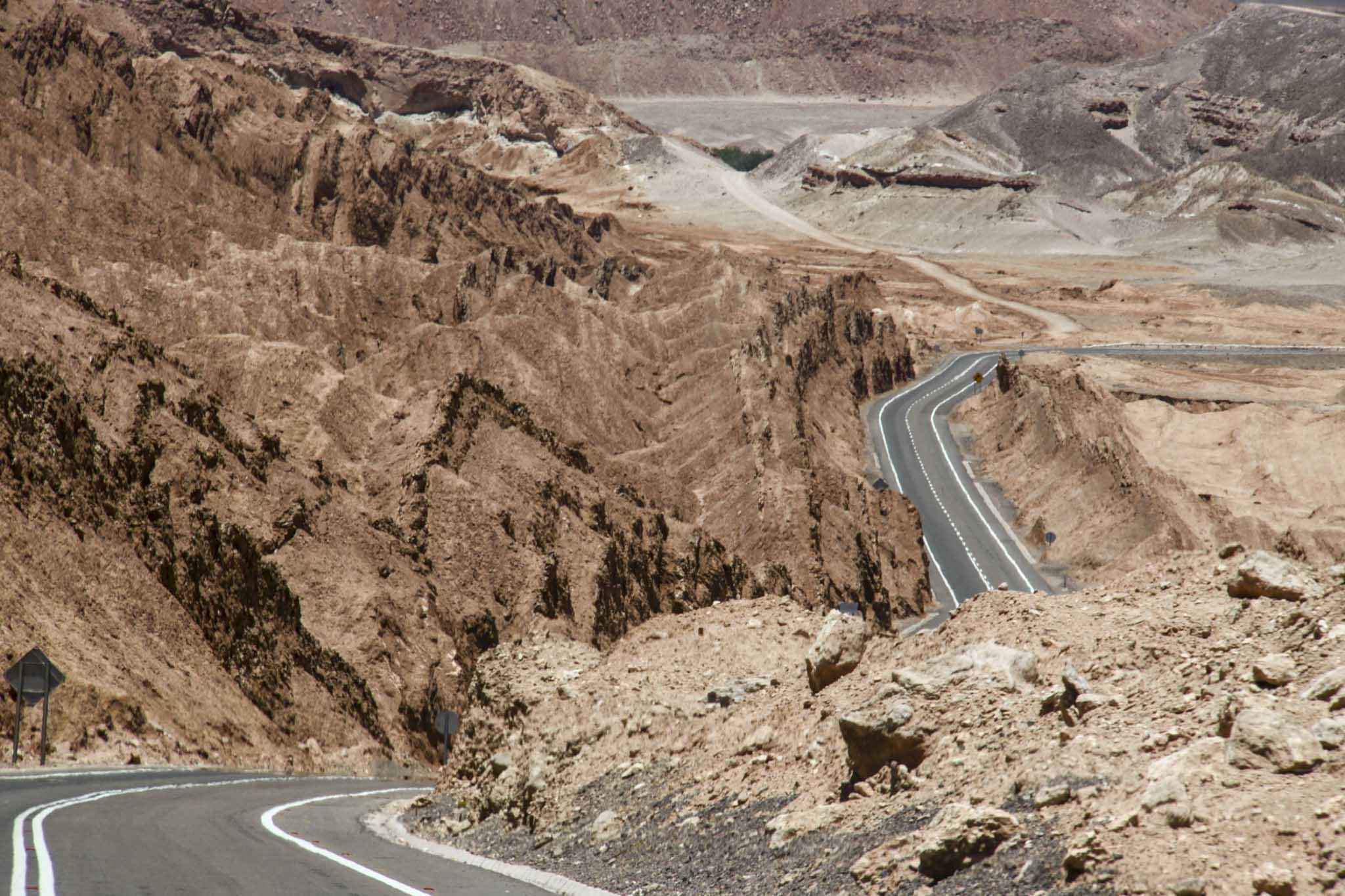 Deserto roads