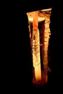 Lazon Monolitico,  Chavin de Huantar