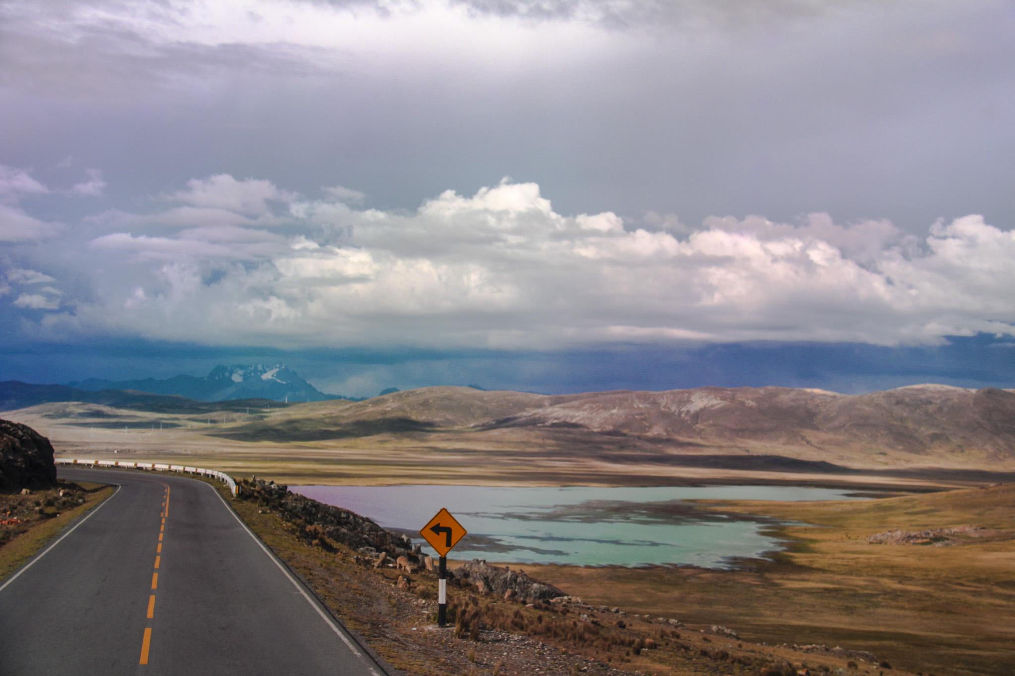 Chegando em Huaraz
