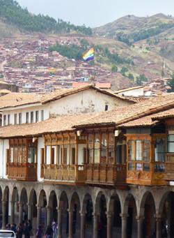 Cusco - balcões