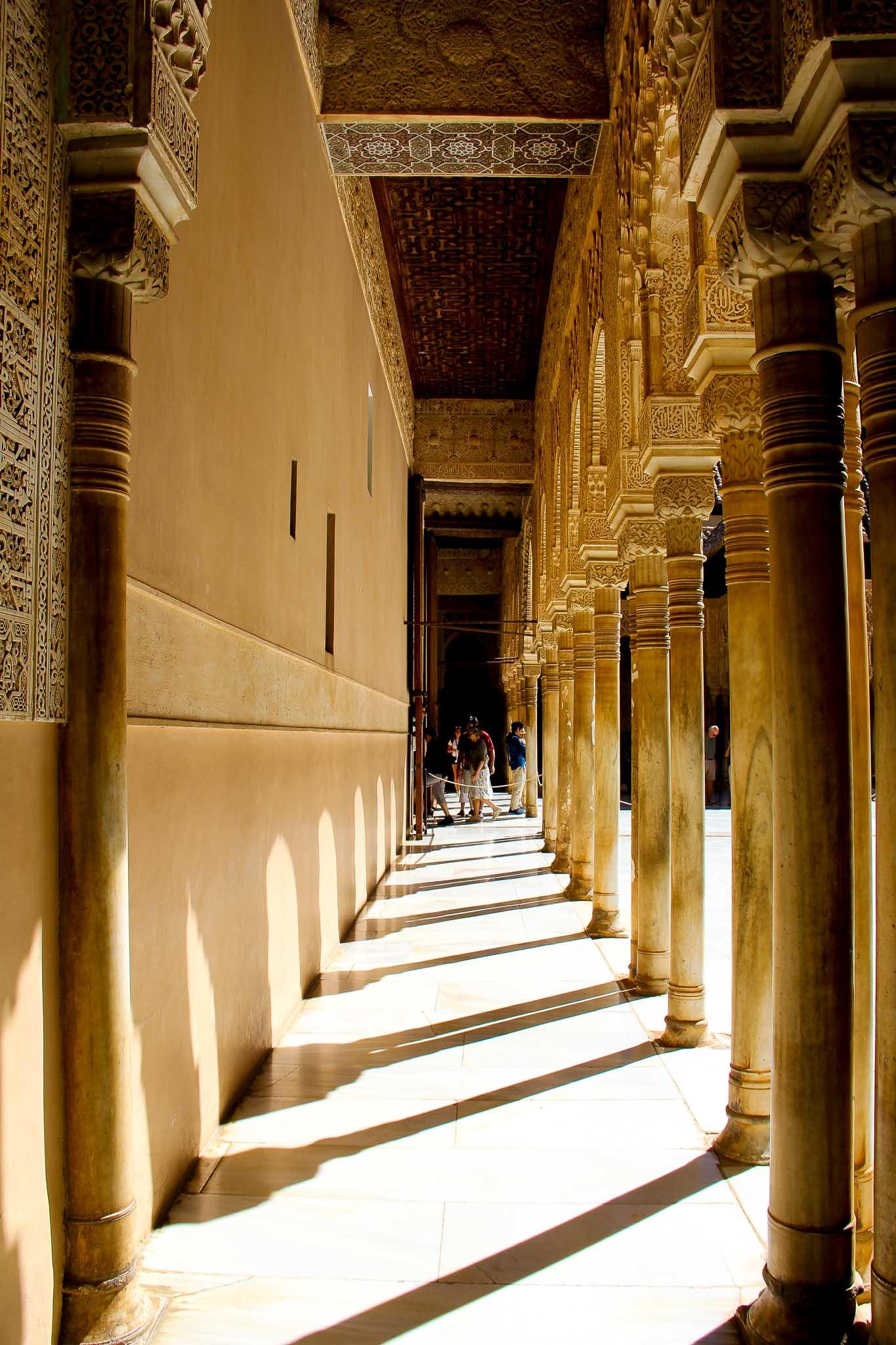 Palácios Nazaries, Alhambra, Granada