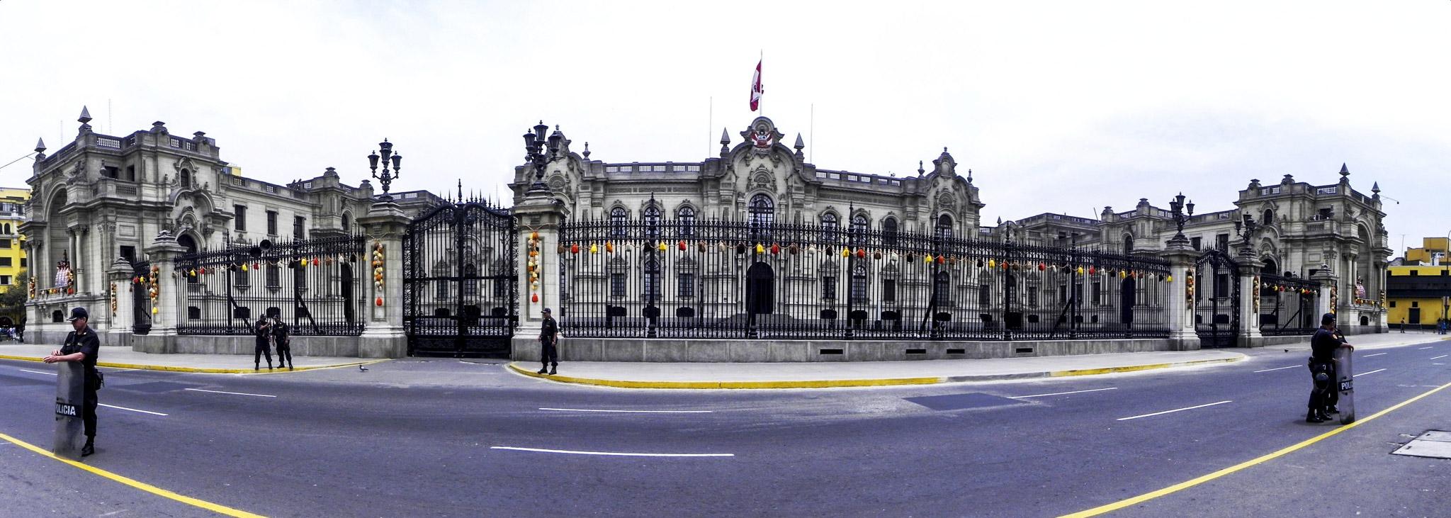 Palacio do Governo, Lima