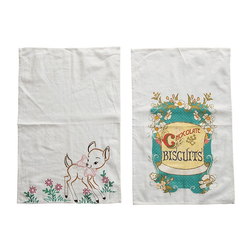 Riviera Collection- vintage style kitchen towels