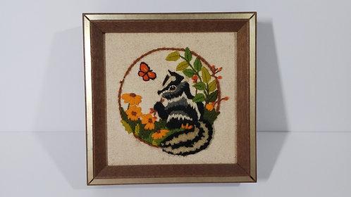 Woodlands Collection- Skunk Crewel Needlework