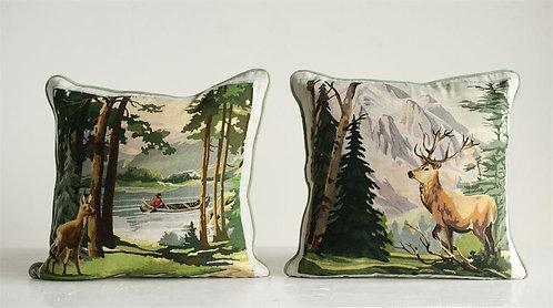 Stoneman Douglas Collection - lake side decorative pillows