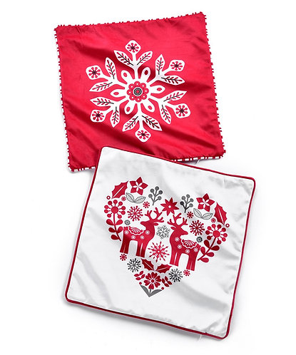 Nordic Collection- Nordic holiday design pillow cases