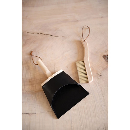 Lighthouse Point Collection- beech wood dust pan & brush