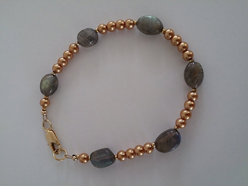 Sun and Moon Collection- la mer bracelet