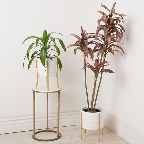 Delray Collection- teardrop planter stand