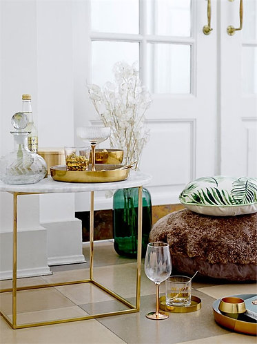 Lighthouse Point Collection- gold sparkle glass tumblers