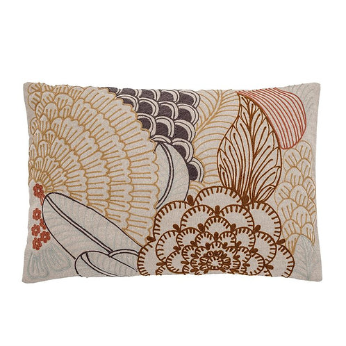 Tequesta Collection- embroidered throw pillow