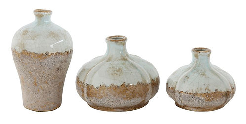 Tequesta Collection- ceramic vases