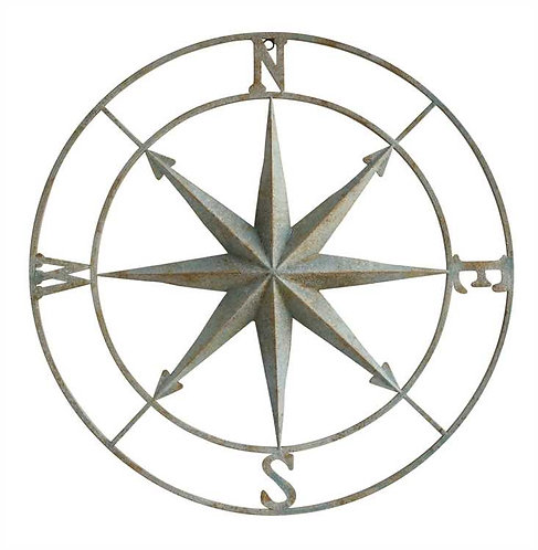 Biscayne Collection- compass wall decor