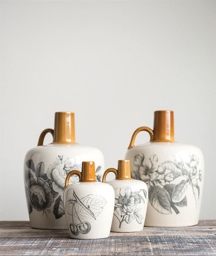Carriage House Collection- large stoneware jugs