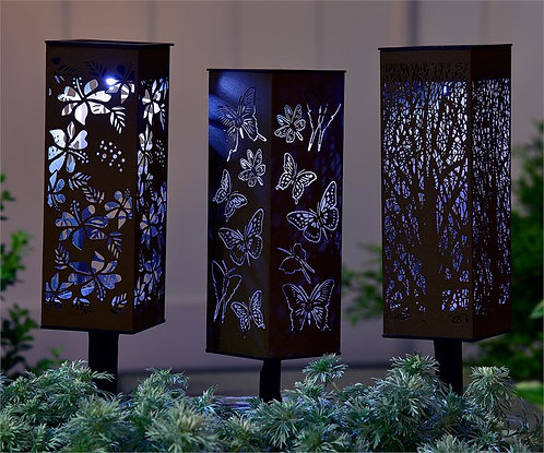 Fort Lauderdale Collection - solar garden lights