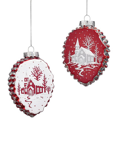 Nordic Collection- woodland  ornaments