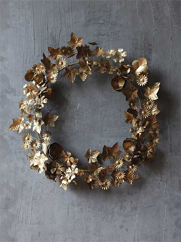 Tequesta Collection- tin wreath