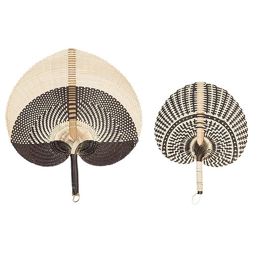 Delray Collection- hand woven hand fans