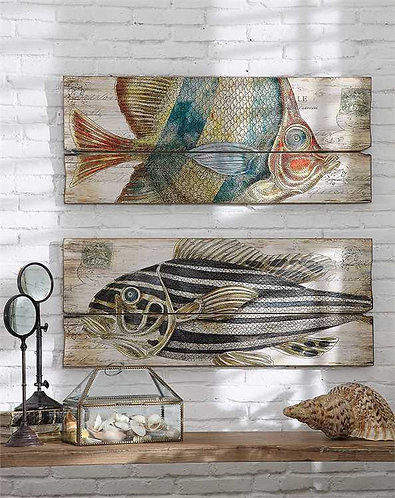 Biscayne Collection- fish wall art