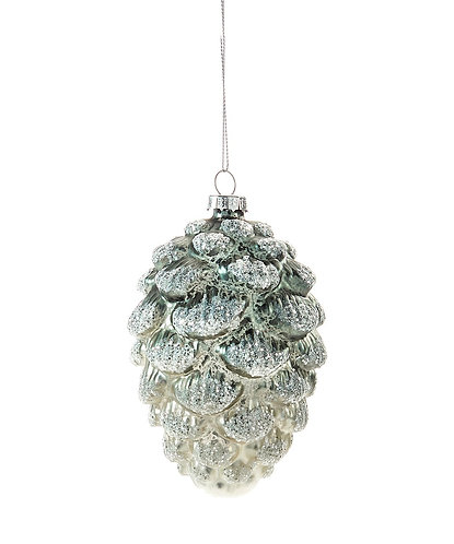 Winter Wonderland Collection- glass pinecone ornament