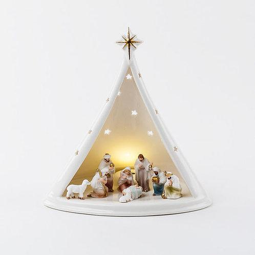 Nativity Collection- illuminated nativity scene