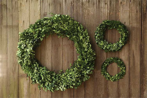 Palm Beach Collection- boxwood wreaths