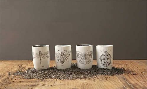 Palmetto Collection- insect tumbler set