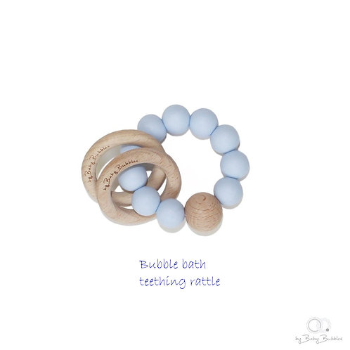 Baby Bubbles Collection- teething rattles