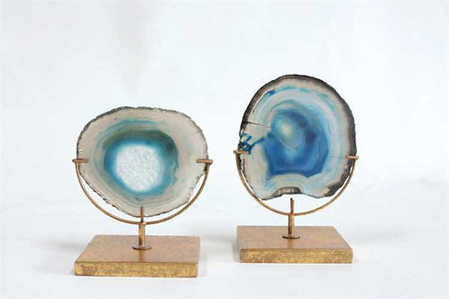 Biscayne Collection- agate slices