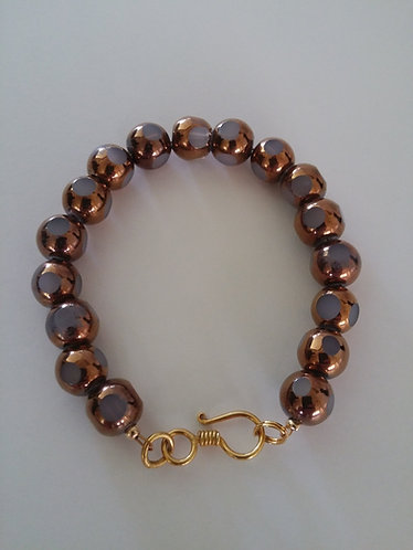 Sun and Moon Collection- Golden moon bracelet