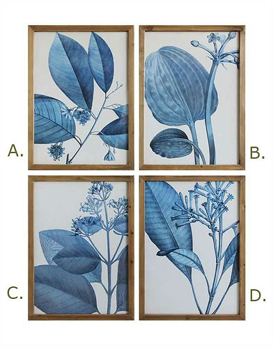 Biscayne Collection- indigo botanicals