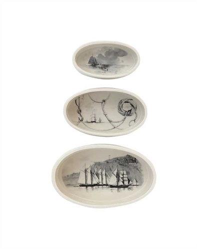 Palmetto Collection- maritime ramekins