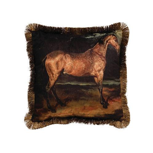 Wellington Collection- horse throw pillow