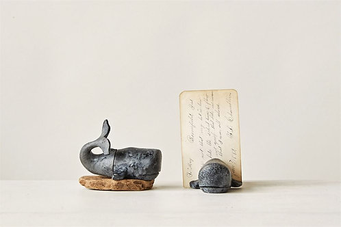 Pompano Collection- whale photo holder