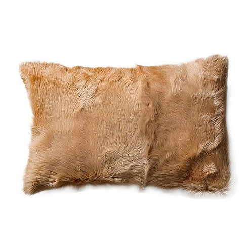 Lighthouse Point Collection- Mongolian goat fur pillow