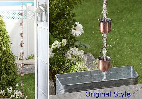 Loxahatchee Collection- iron rain chain