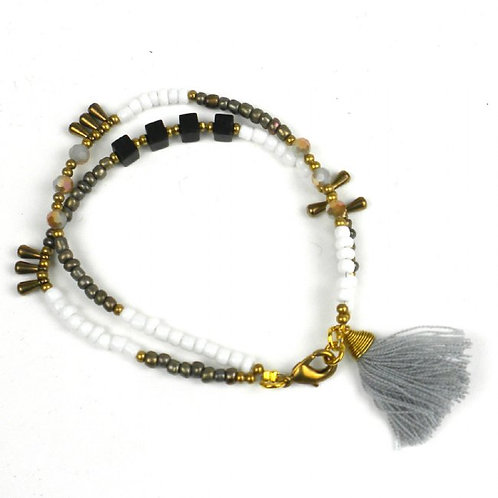 Miami Collection - white bracelet